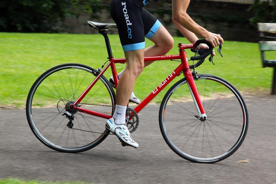 Enigma Elite Frameset - riding 2.jpg
