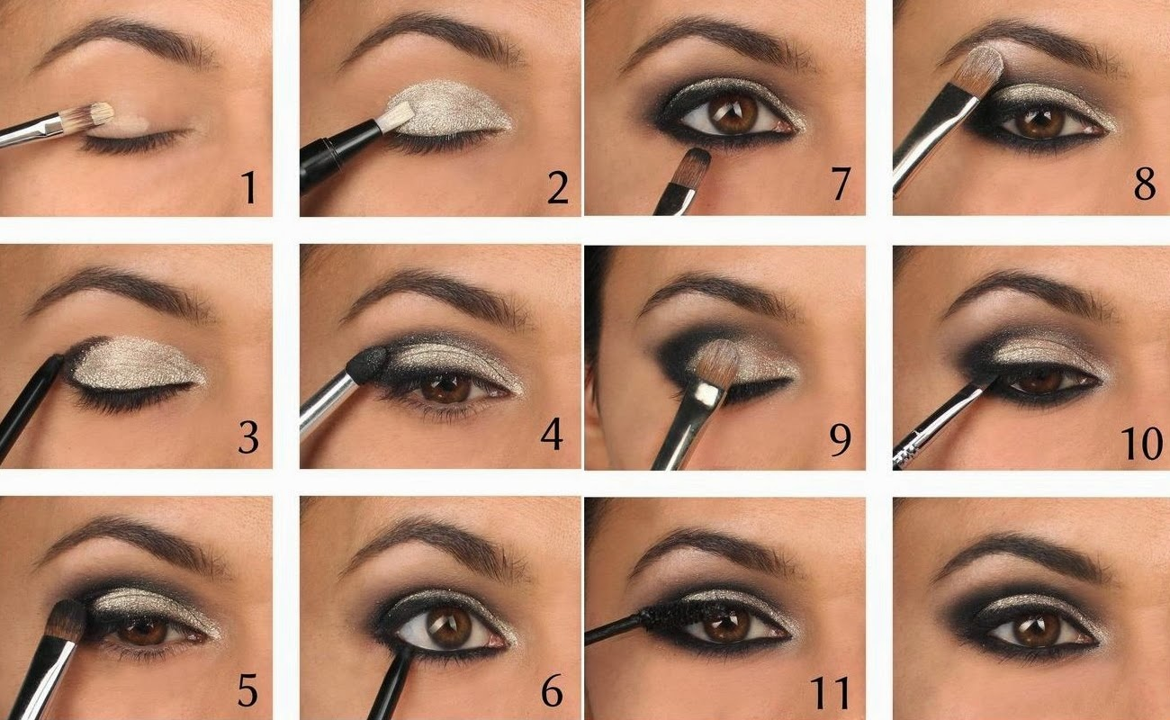 Smoky eye makeup tutorial smoky eye guide smoky eye guide makeup tutorial for smoky eye baditri Image collections