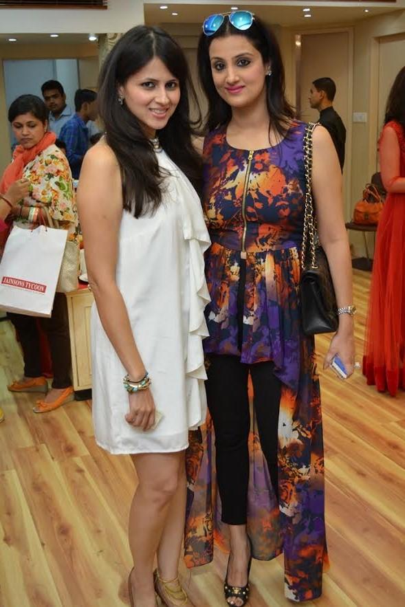 Divya Mahajan and Rijuta Malhotra at the Event