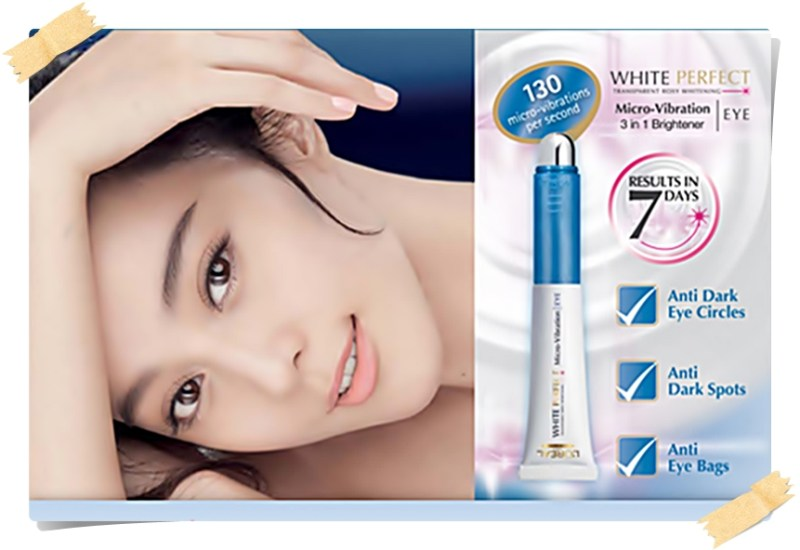 L'Oreal White Perfect Micro Vibration Eye Brightening Cream Review
