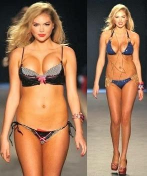Wearing Perfect Swimsuit to Flatter Figure