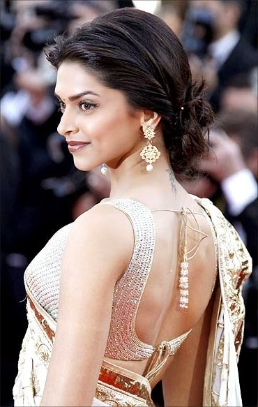 Backless saree blouses designs for women think