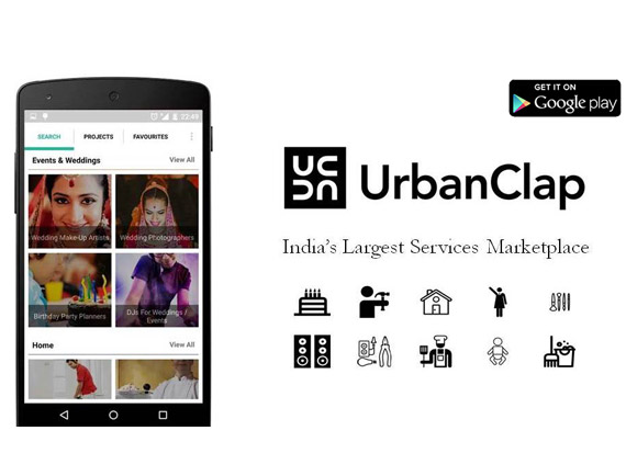 UrbanClap App Review; Lifestyle Services at a Clap!