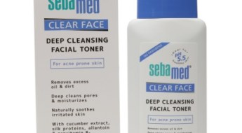 Sebamed Clear Face Deep Cleansing Toner Review for oily skin