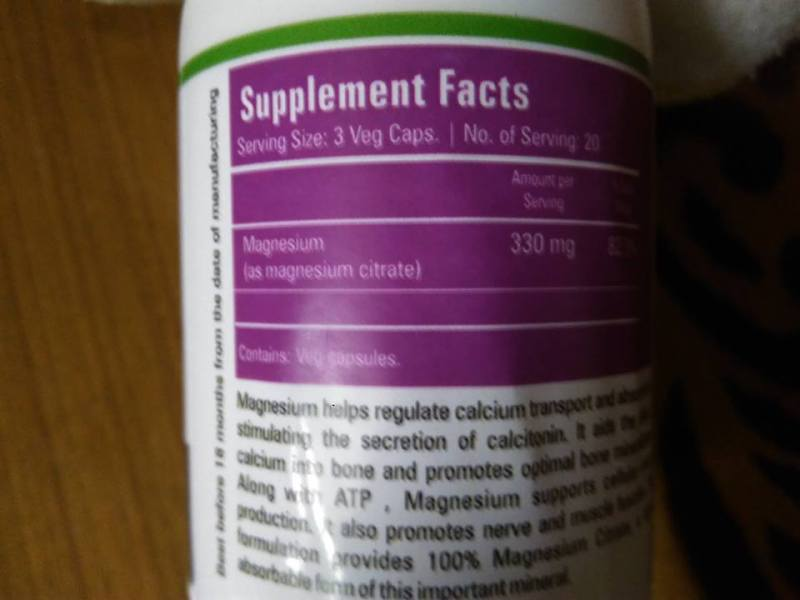 Zenith Nutrition Magnesium Citrate Capsules Review