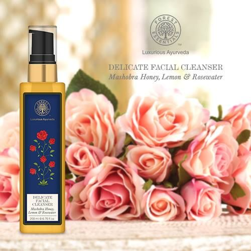 Image result for DELICATE FACIAL CLEANSER MASHOBRA HONEY, LEMON & ROSEWATER