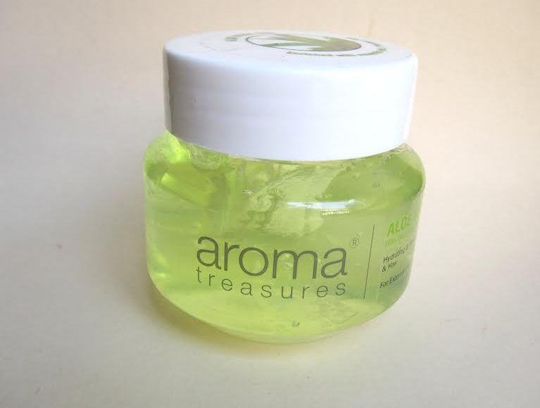 Aroma Treasures Aloe Vera Gel Review