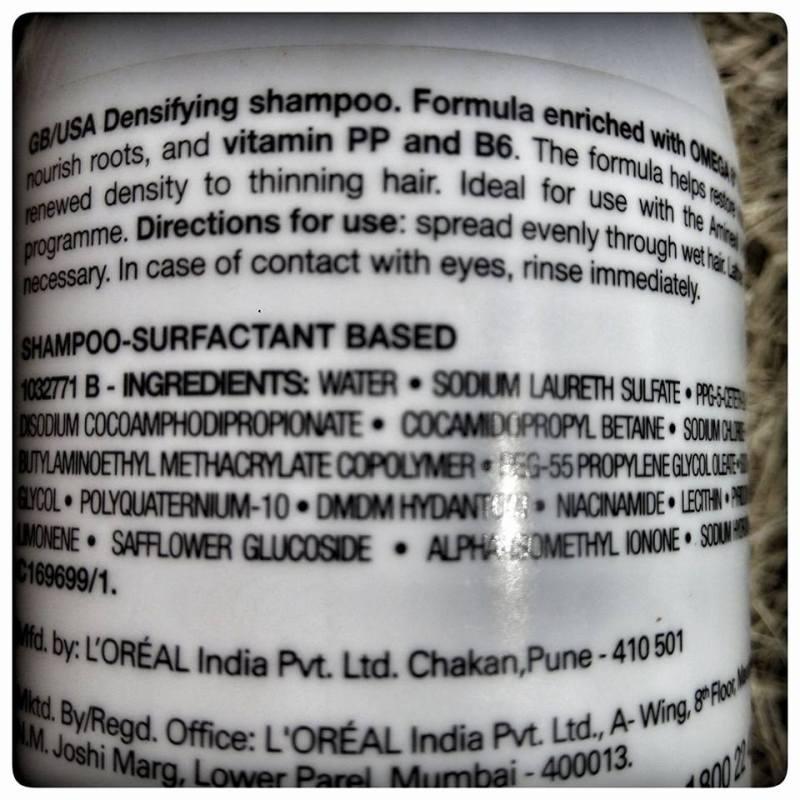 L'Oreal Density Advanced Shampoo