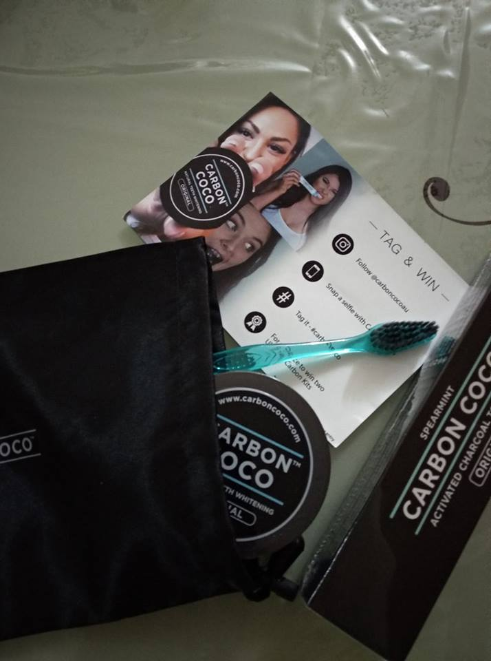 Carbon Coco Teeth Whitening Kit with Activated Charcoal