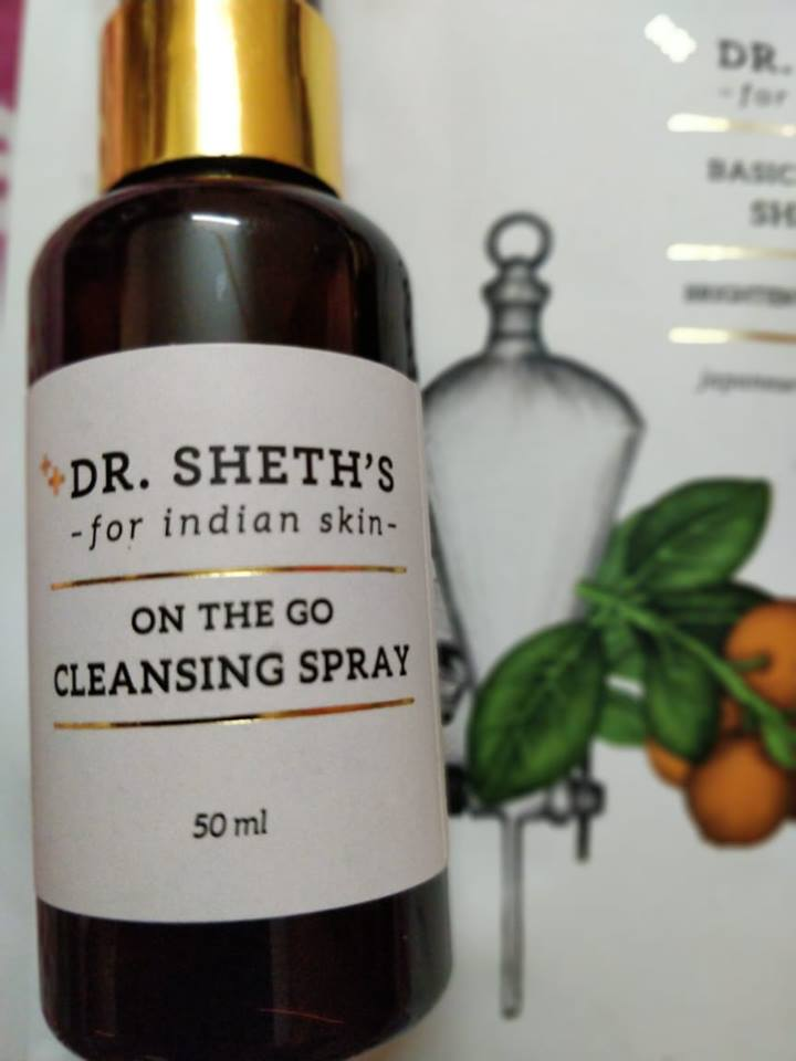Dr. Sheth's On the Go Cleansing Spray review