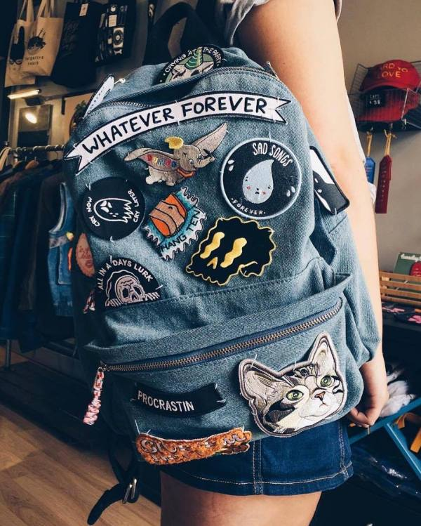 fashionable custom velcro patches for promotion