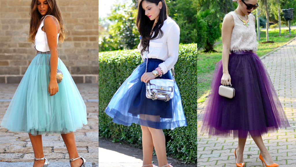 tulle skirt fashion