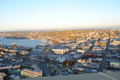 View from seattle space needle