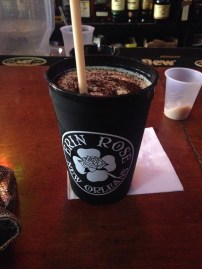 frozen irish coffee at erin rose new orleans