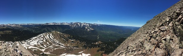 View from almost the top!