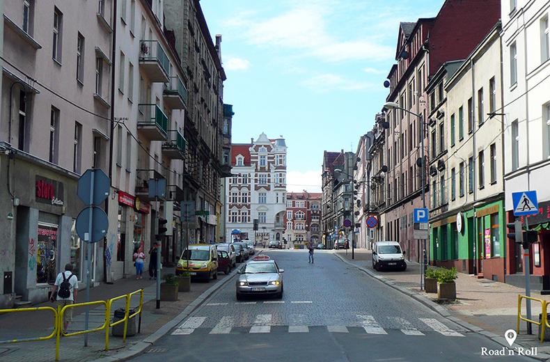 ulica podgórna w bytomiu - bytom śladami karin stanek