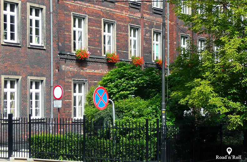 szkoła podstawowa przy ulicy strażackiej - bytom śladami karin stanek