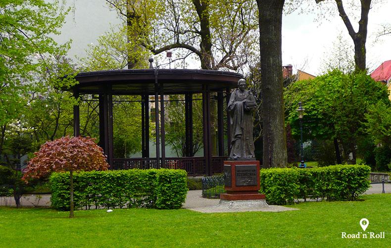 ogród larischów w cieszynie o którym śpiewał jaromir nohavica w piosence cieszyńska