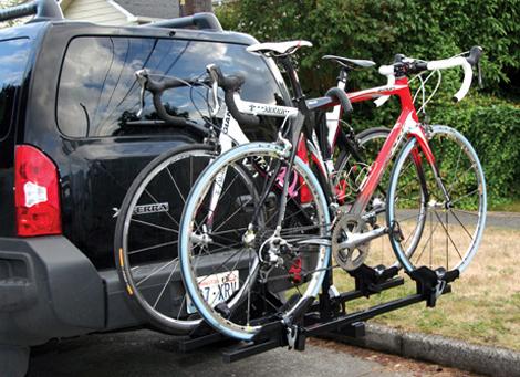 thule double bike rack