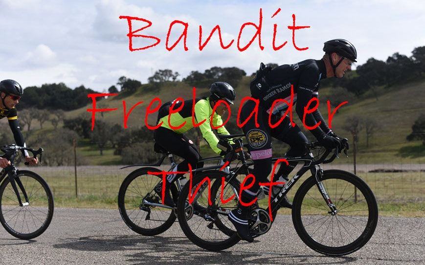 bandit bike riders get