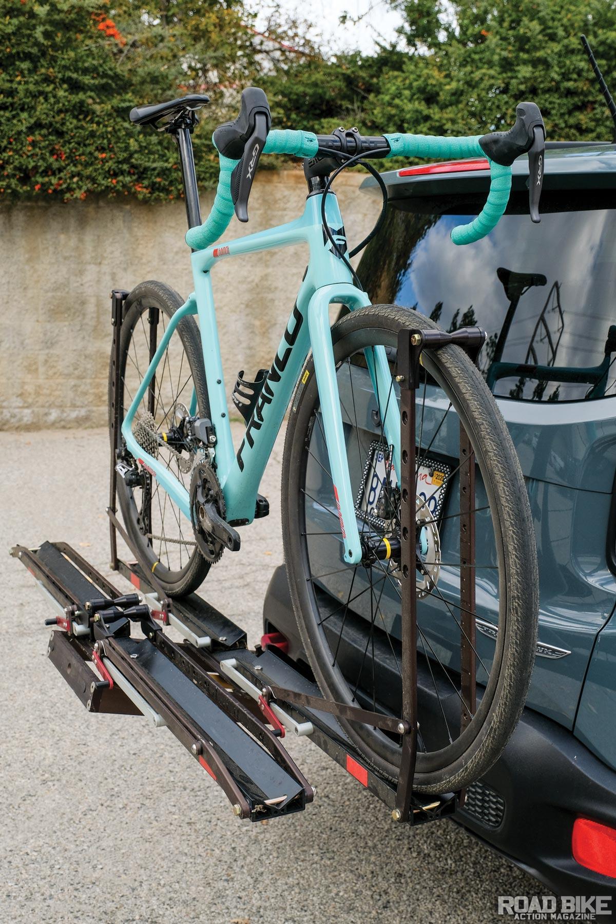 bike rack test kuat nv 2 0 versus 1up
