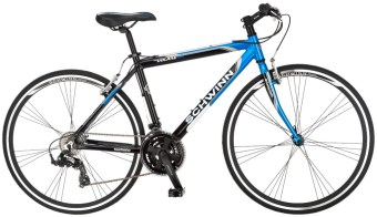 Schwinn Men's Volare 1200 700C Flat Bar Road Bicycle