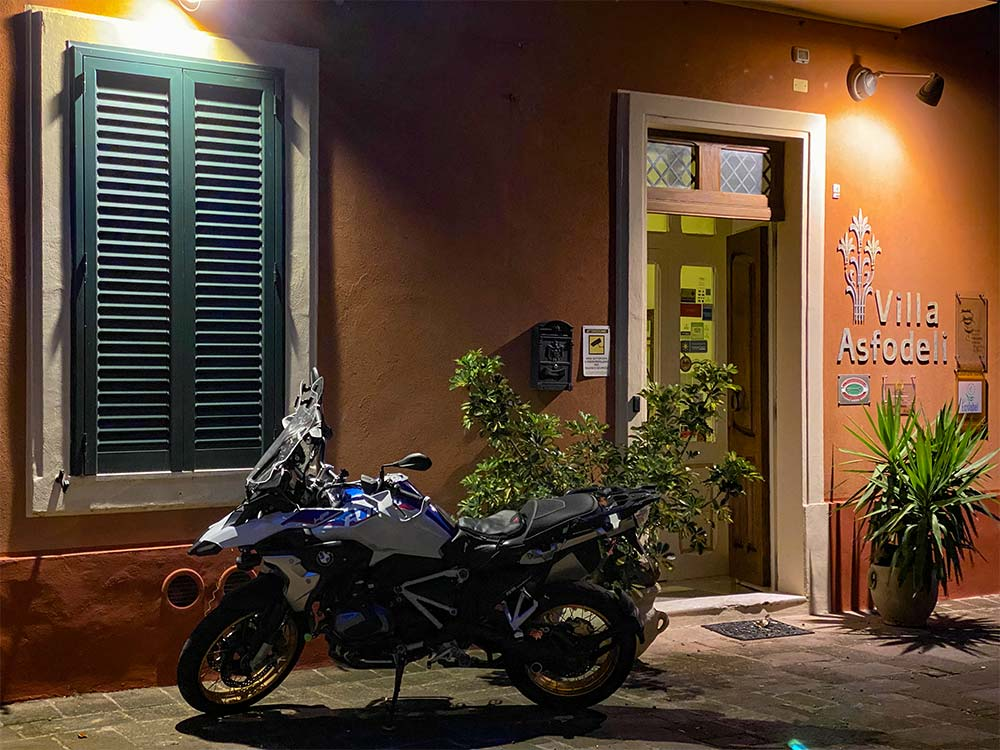 Villa Asfodeli, Tresnuraghes, Sardinien