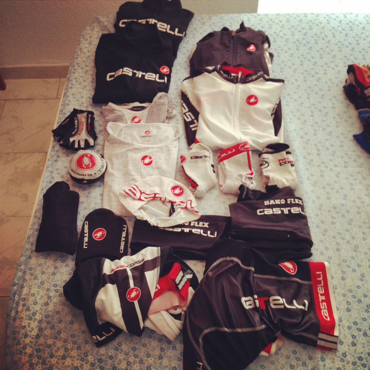 Ropa Tour Flandes 2014 Castelli Cycling.