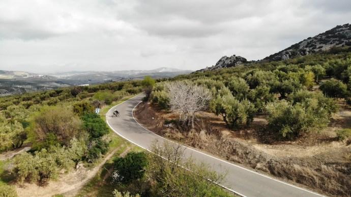 Castelli Cycling, ruta por Zuheros (Córdoba).