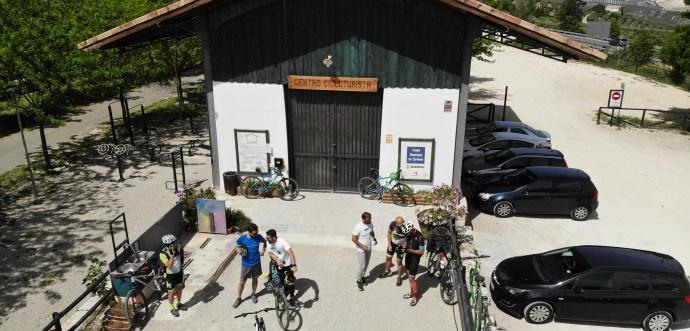 Centro cicloturista de Doña Mencia.
