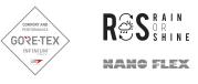 Logotipo RoS. Rain or Shine Castelli Cycling
