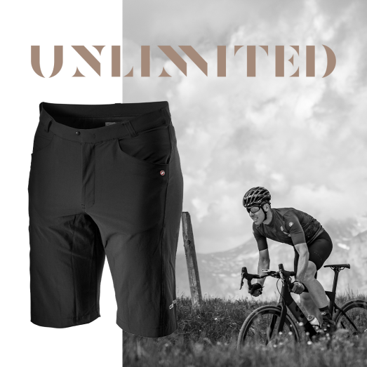 Unlimited Castelli Cycling.