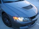 2007 Mitsubishi Lancer Evolution IX MR Headlight
