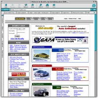Roadfly.com Home Page 2001