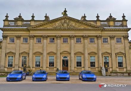 Subaru BRZ England Tour at Harewood Hall