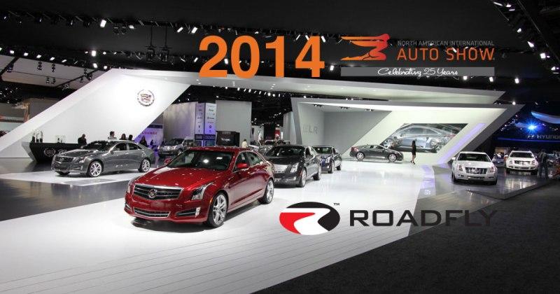 Cadillac booth at NAIAS Detroit Auto Show 2013