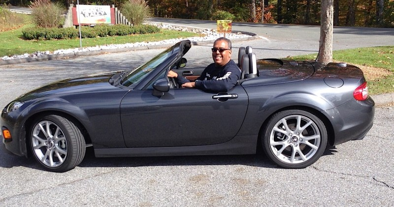 2015 Mazda MX5 with Brian Armstead
