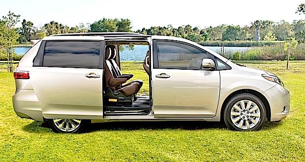 2015 Toyota Sienna sliding doors
