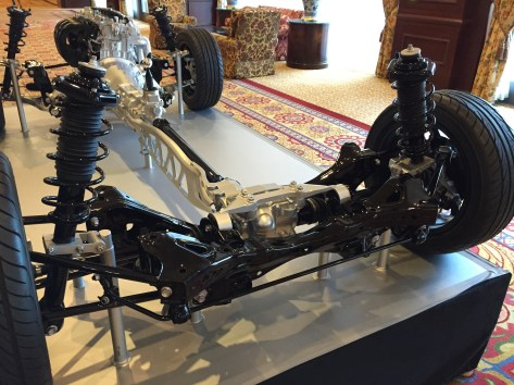 2016 mazda mx-5 rear chassis