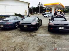 2016 Porsche Test Cars