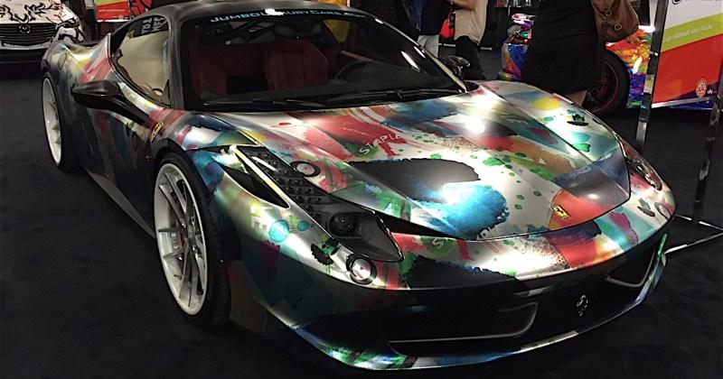 Miami Auto Show Art Cars