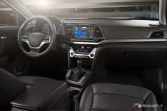 2017 Hyundai Elantra Sedan Center console