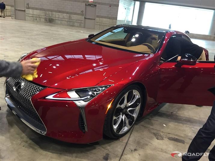 2017 Lexus LC 500 Chicago Auto Show