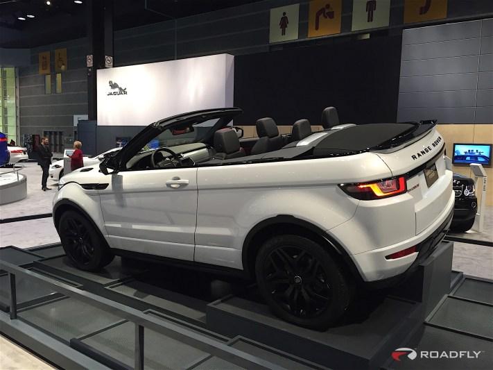 2017 Range Rover Evoque Convertible