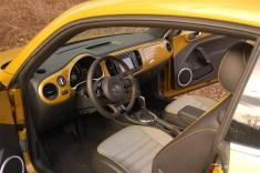 2016 VW Beetle Dune Interior