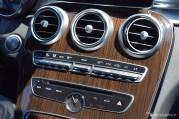 2017 Mercedes-Benz C-Class Coupe Center Dashboard