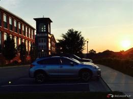 Subaru Crosstrek Durham, NC Sunset