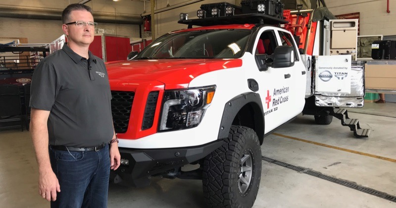 Calling All Titans, Nissan Titan XD American Red Cross