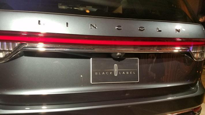 Lincoln Black Label