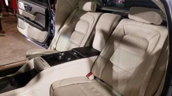 Rear Seats Lincoln Contiental Coach Door
